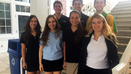 Nine Upper School Students Inducted into the STN Honor Society