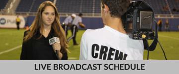 Live Broadcast Schedule