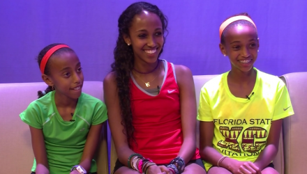 Athlete Spot Feature: The Yared Sisters (Cross Country)