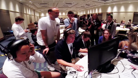 Behind the Scenes: 2014 Student Television Network Convention