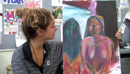 Marley Edelman '16 - Student Artist