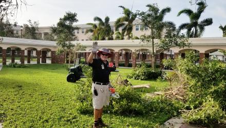 Pine Crest After Hurricane Irma