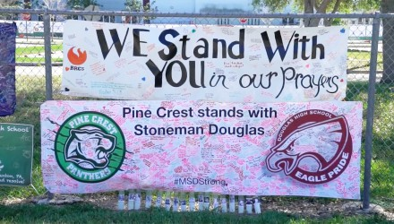 Pine Crest Stands With MSD