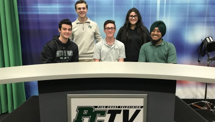 Five PCTV Students Inducted Into STN Honor Society