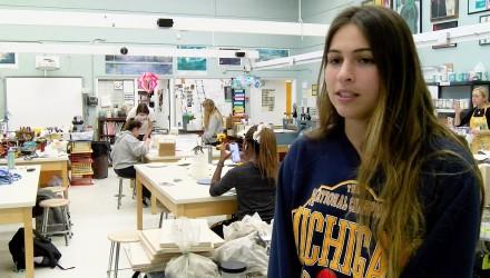 Natalie Klar '19 - Student Artist & Entrepreneur